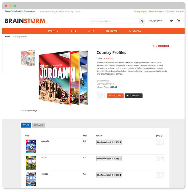 Brainstorm Library