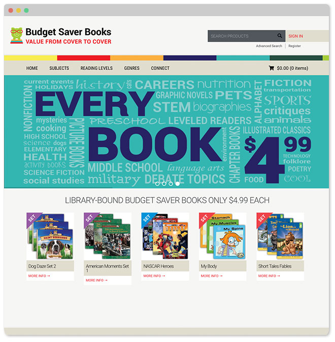 Budget Saver Books